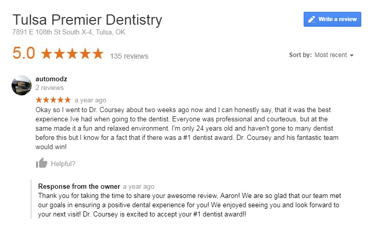 dentist broken arrow