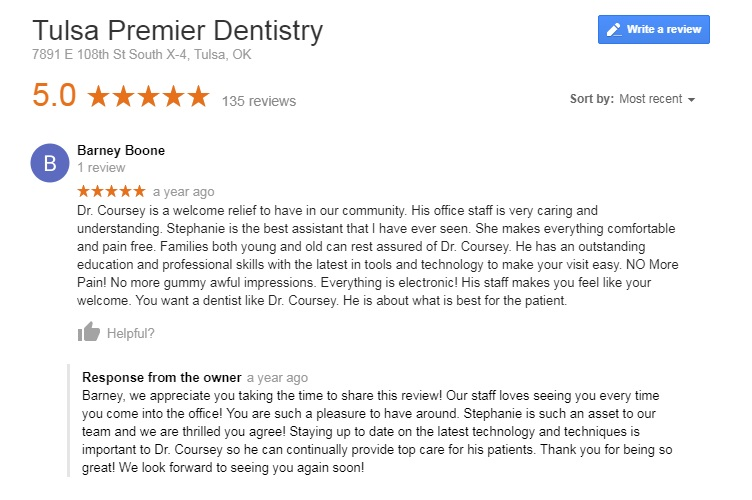 dentist in broken arrow
