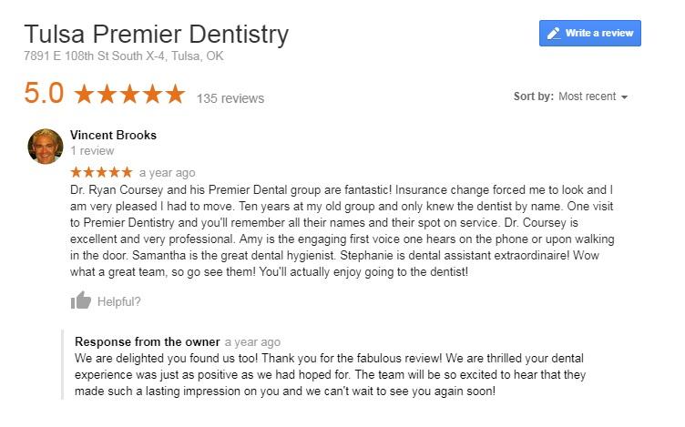 dentist tulsa ok