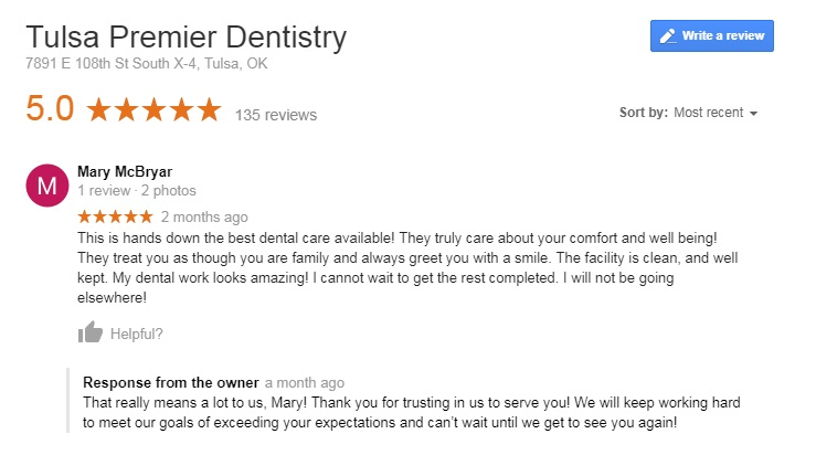 dentists in tulsa
