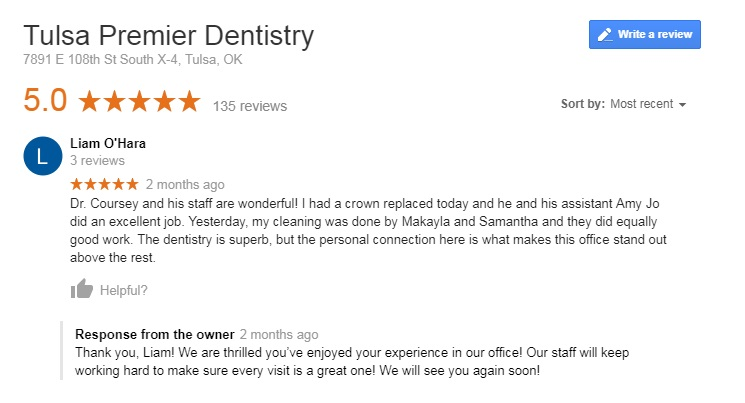 dentist south Tulsa