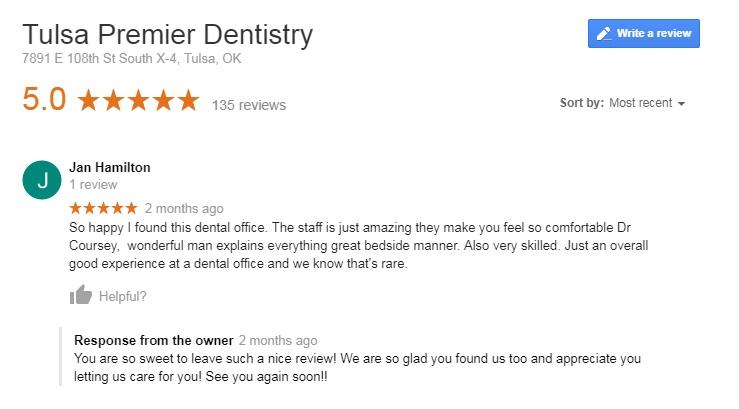 dentist bixby ok