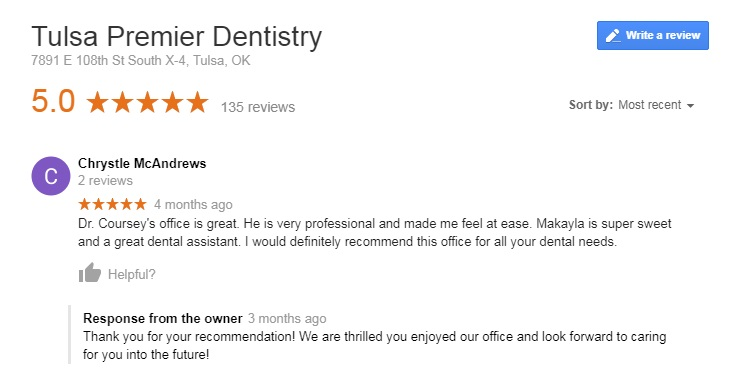 best dentist tulsa