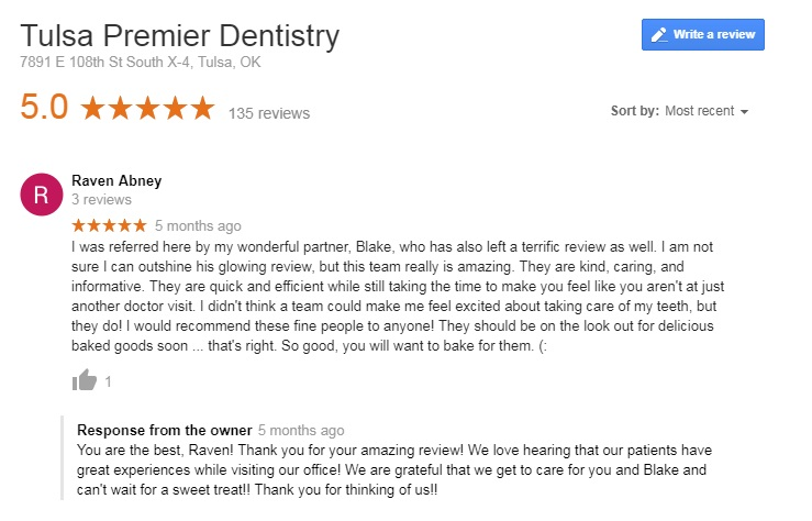 dentist in tulsa oklahoma