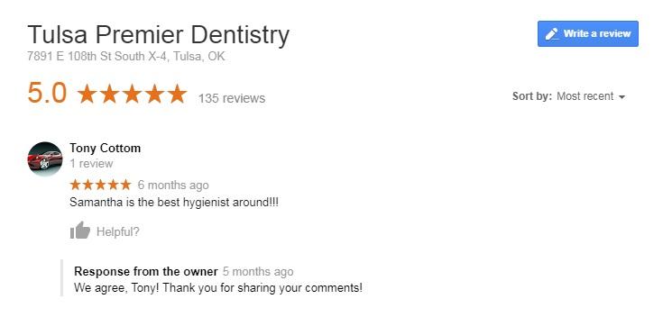 cosmetic dentist tulsa