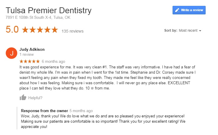 dentists tulsa ok
