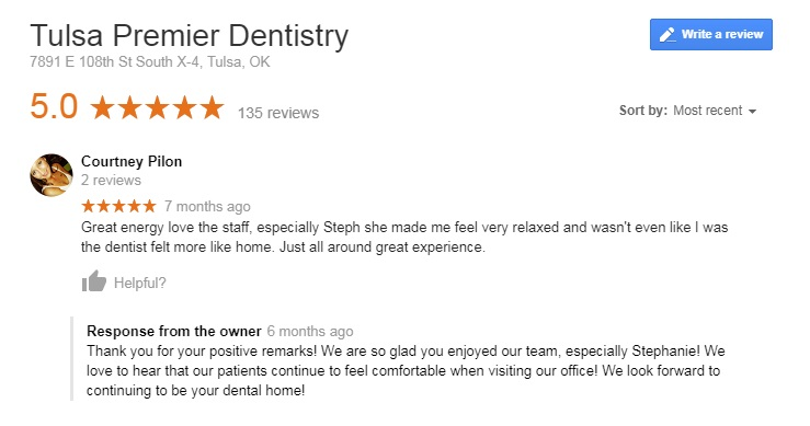 best tulsa dentist