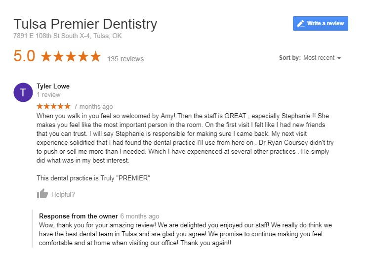 south tulsa dentists