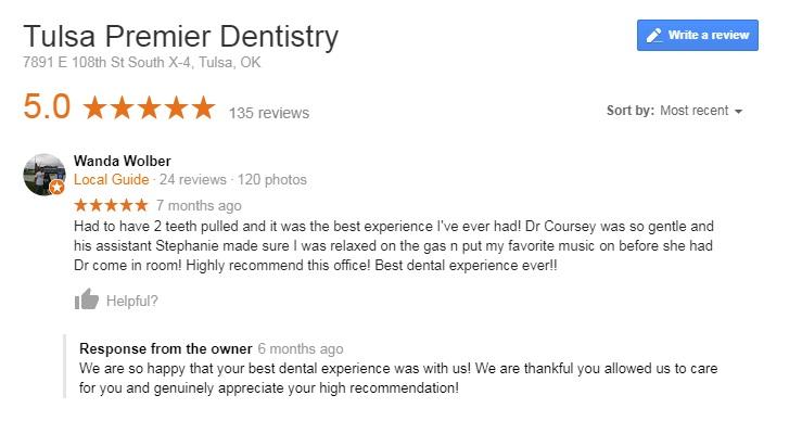 top dentist in Tulsa