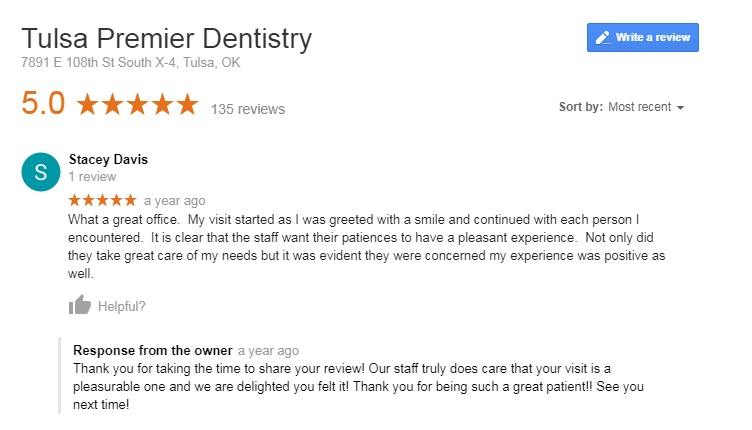 tulsa cosmetic dentistry